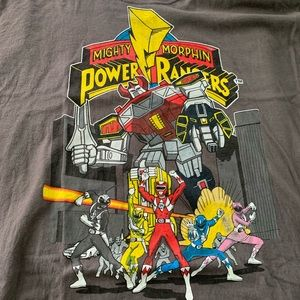 Vintage Power Rangers T Shirt 90s XL Marvel Rare